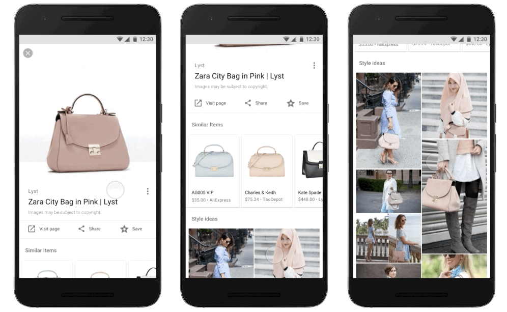 Google Image Search Launches 'Style Ideas' Feature