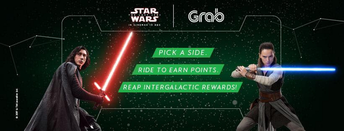Grab and Disney want riders to feel the force with Stars Wars: The