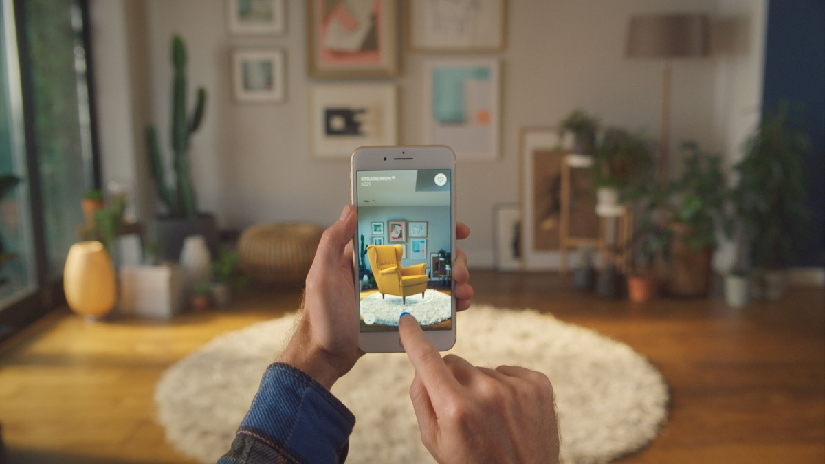 Ikea Place Apple AR app