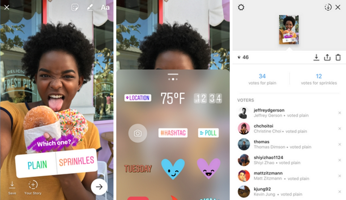 Instagram's new Stories sticker is all about polls