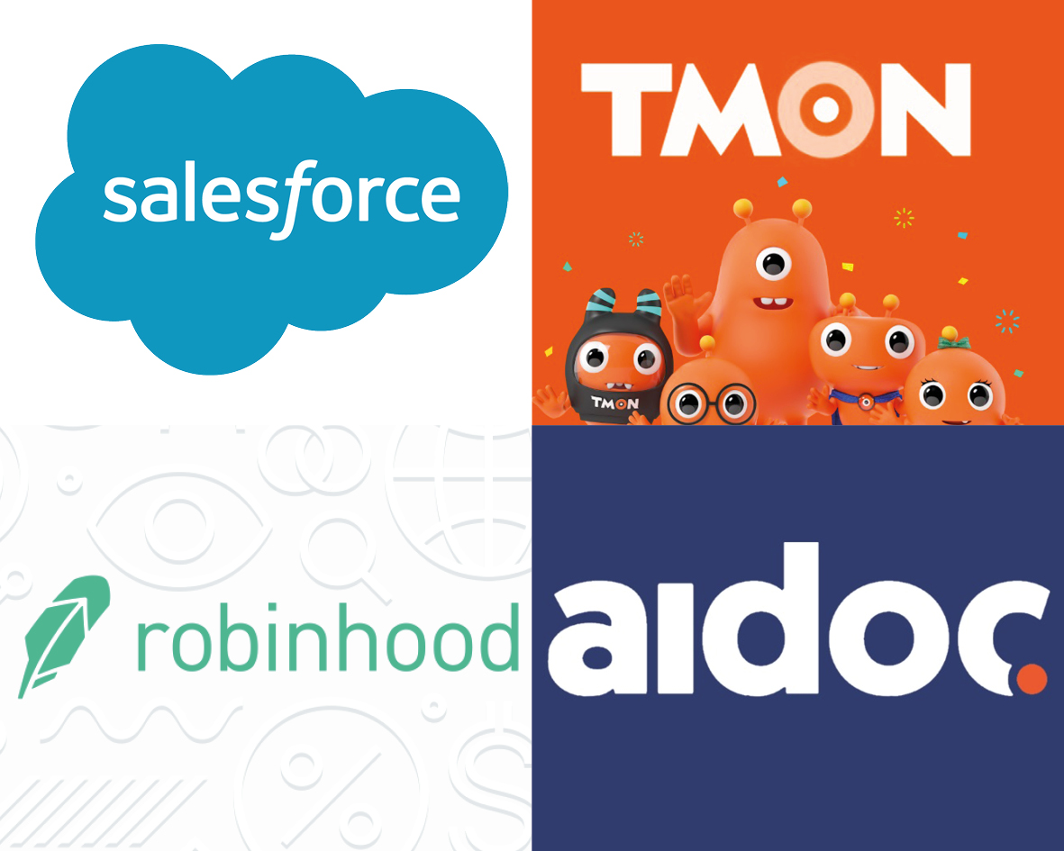 Investment Round 2 May Salesforce Ticket Monster Robinhood AIDoc