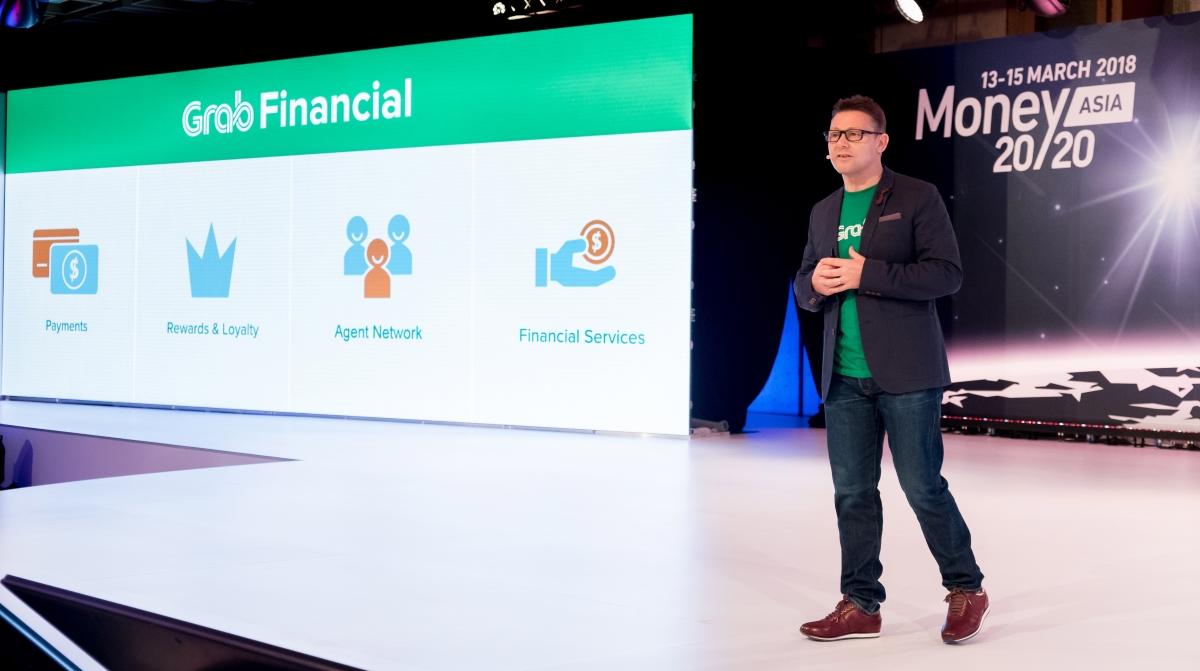 Ride hailing app Grab launches financial services unit