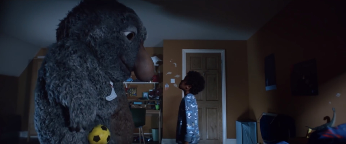John Lewis Moz the Monster Christmas ad