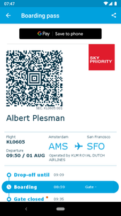 KLM adds Google Pay support to its Android App | Mobile