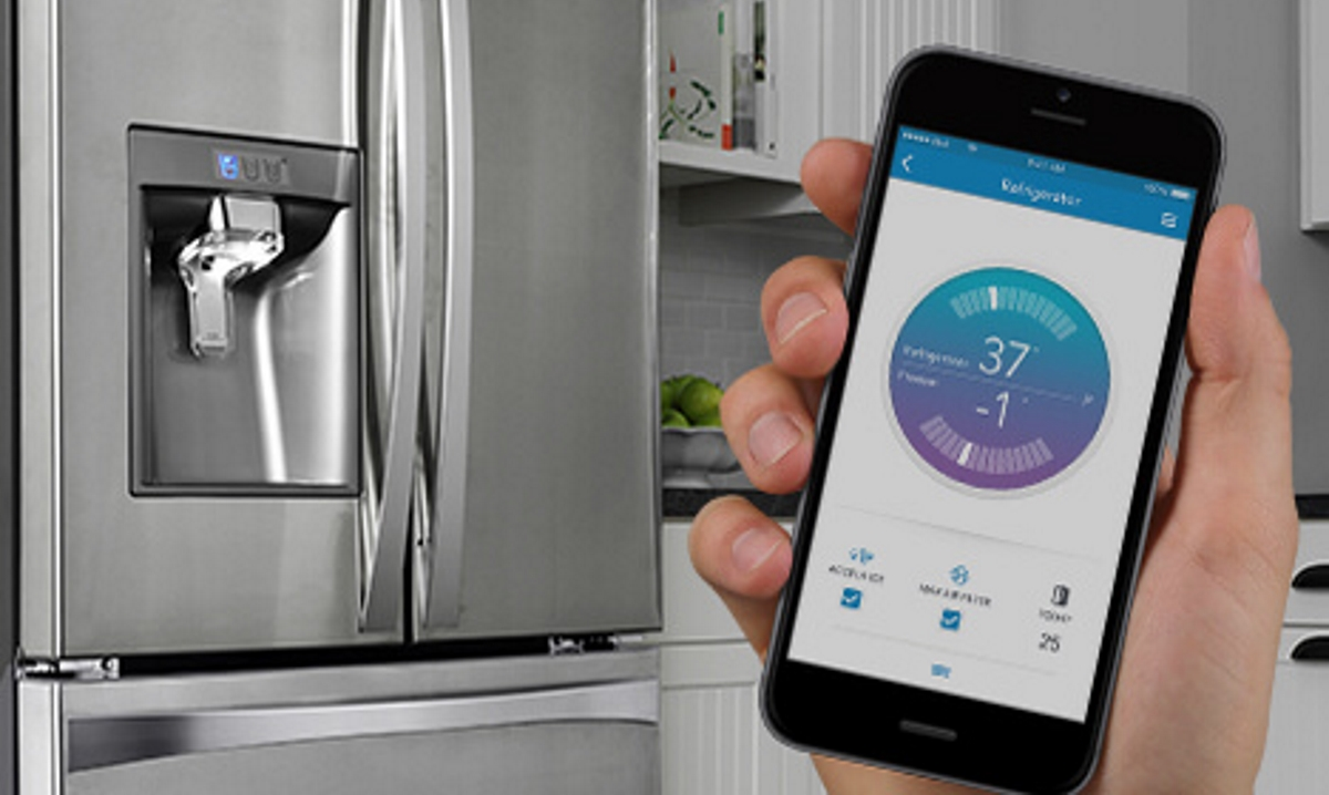 Kenmore smart fridge