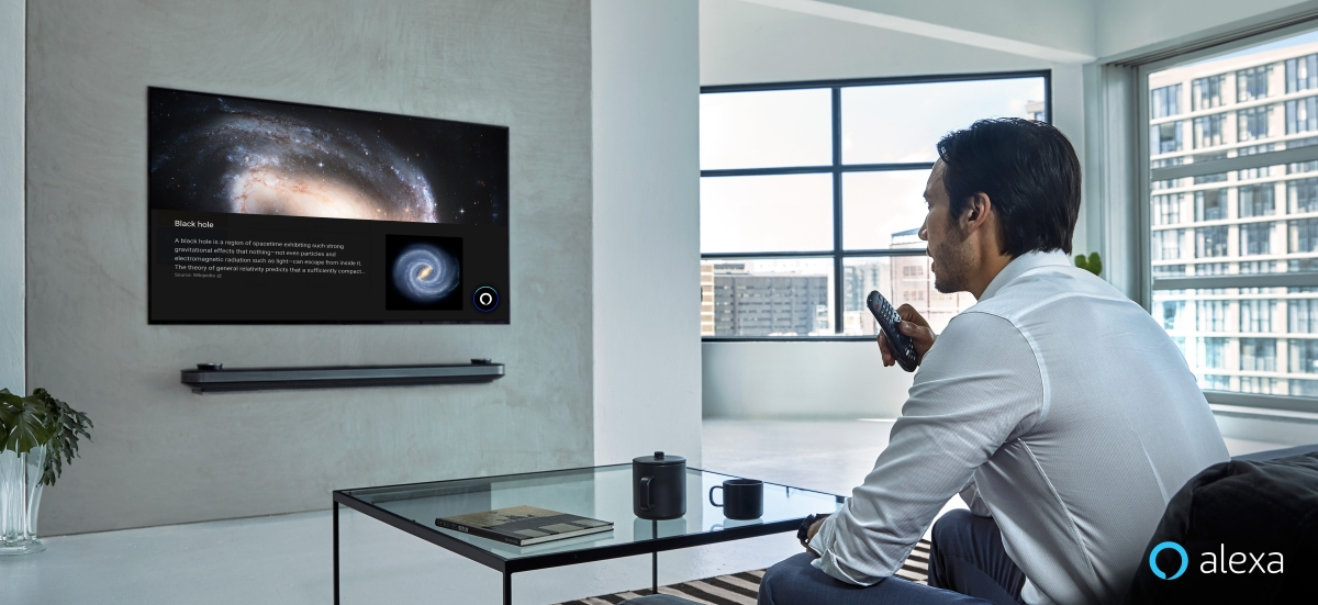 LG AI TV Amazon Alexa