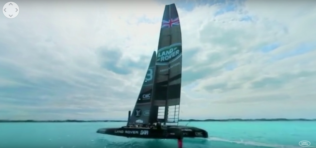 Land Rover America's Cup VR