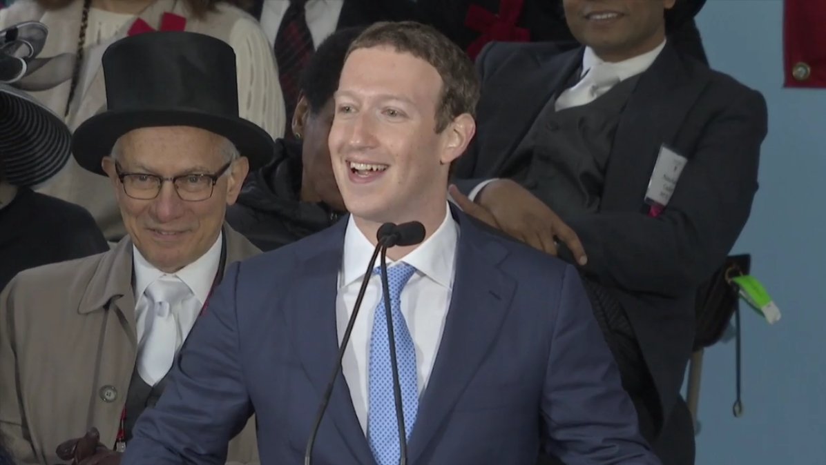 Facebook CEO Mark Zuckerberg finally gets his Harvard degree