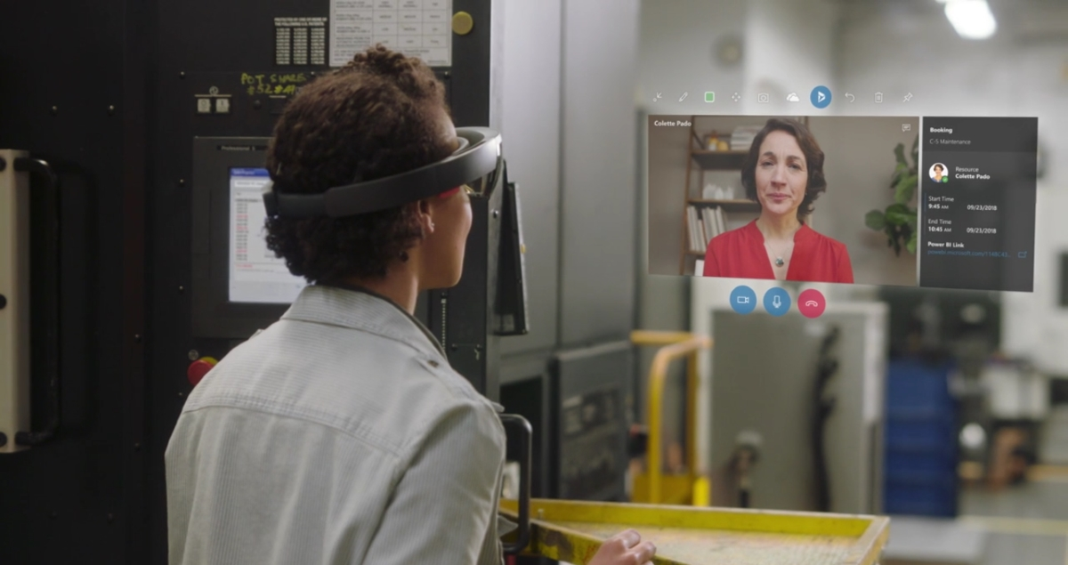 Microsoft HoloLens Dynamics 365 Remote Assist