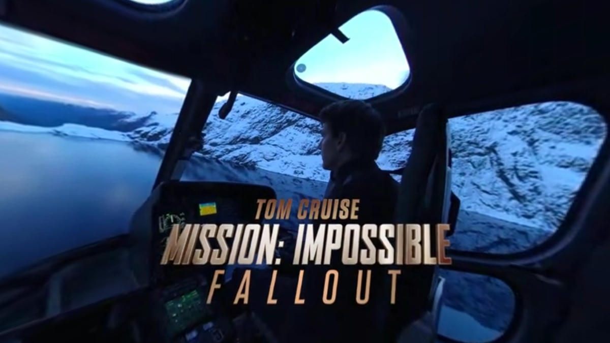 Mission Impossible Fallout 360 VR ad