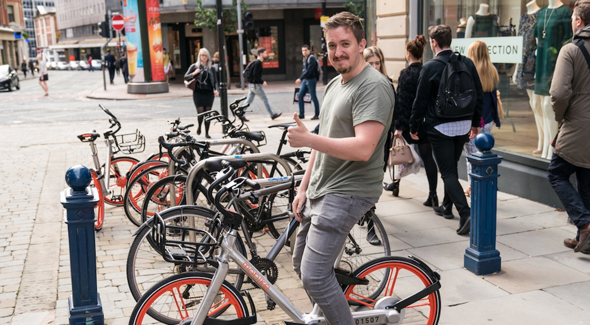 Chinese Dockless Bike Sharing Scheme Coming to Ealing