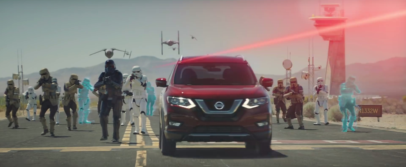 Nissan Rogue and Star Wars