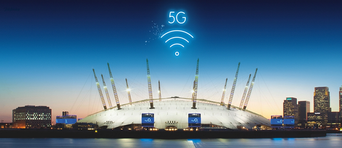 The O2 Arena Is Going To Become A 5g Test Bed Mobile