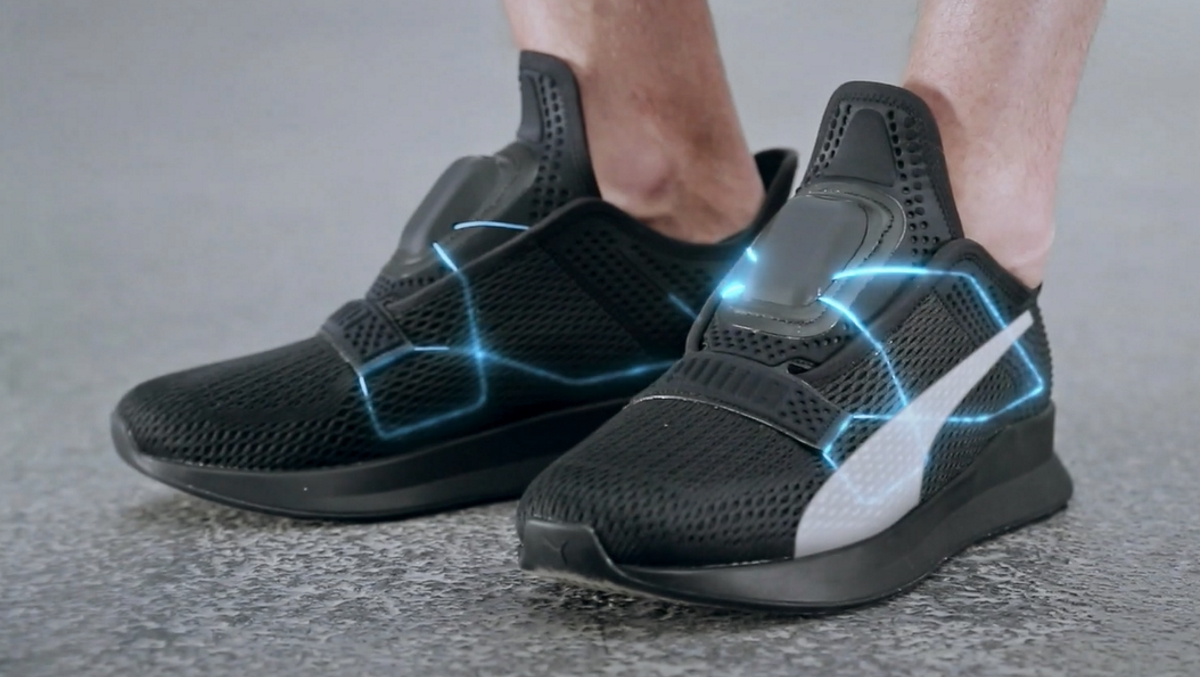 frijoles motor Adicto  Puma takes on Nike with its own self-lacing shoes | Mobile Marketing  Magazine
