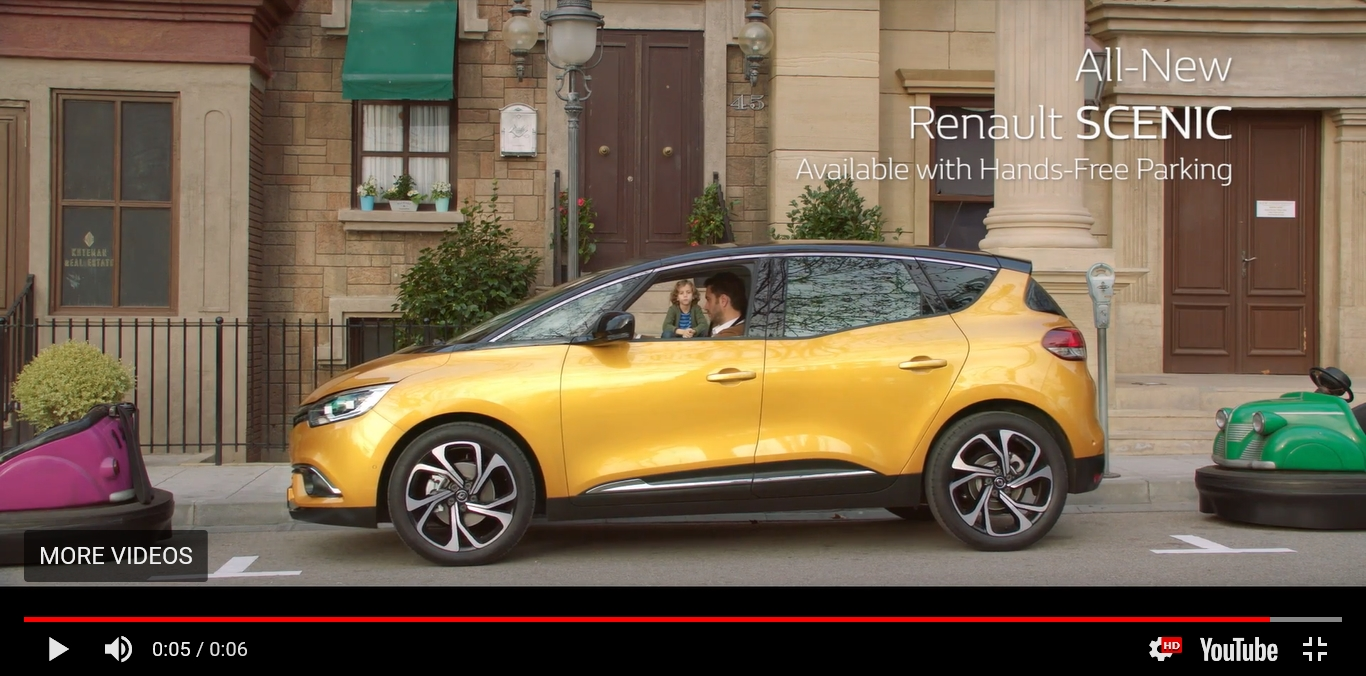 Renault YouTube ad