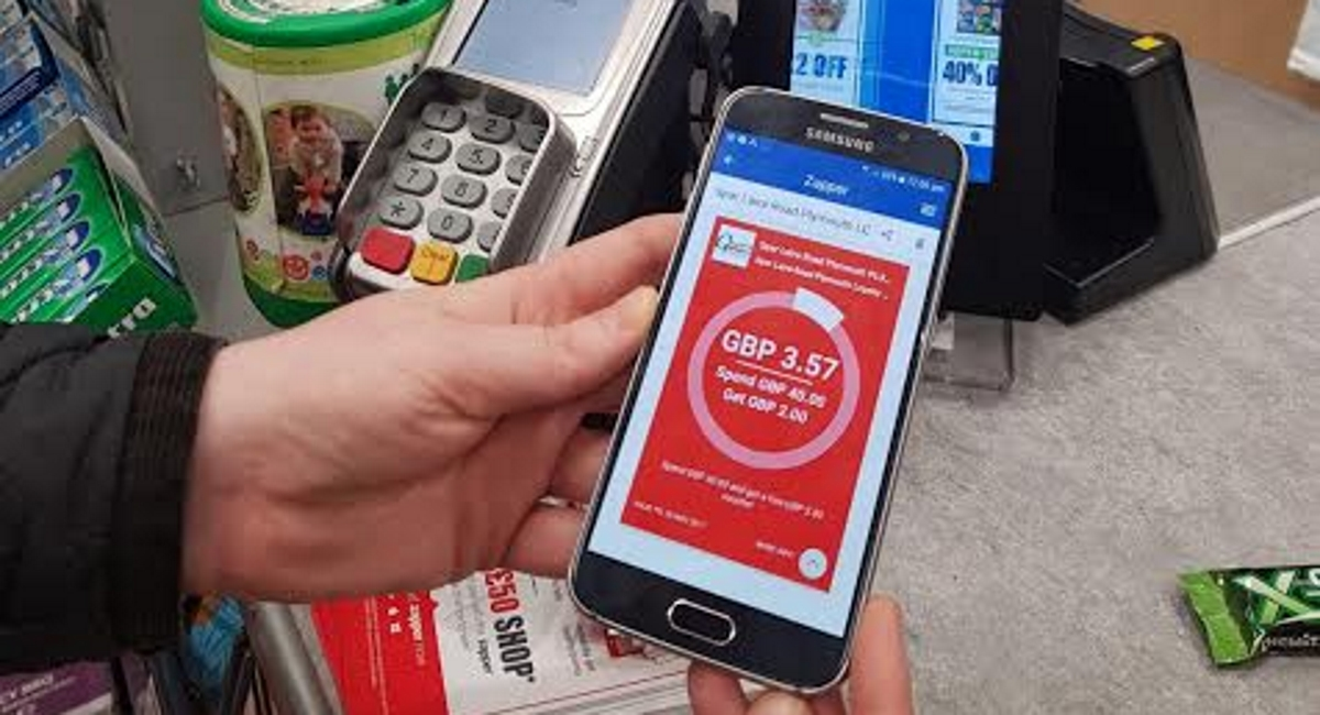 Spar Zapper loyalty app