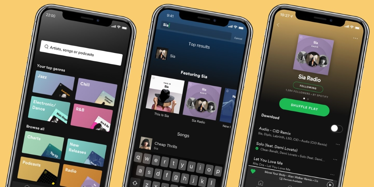 Spotify Premium update lets you listen to endless playlist of similar music