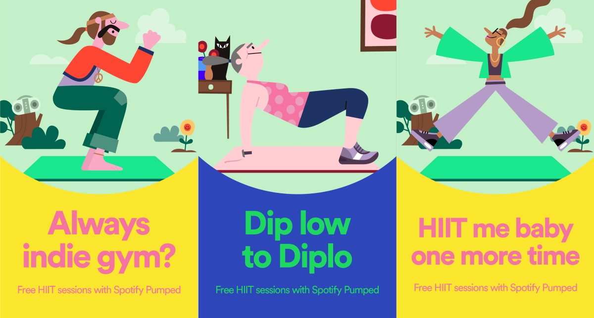 Spotify Launches Fitness Campaign Across Uk And Ireland Mobile Marketing Magazine