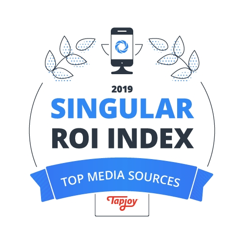 Tapjoy rises into top 10 mobile media sources in Singular