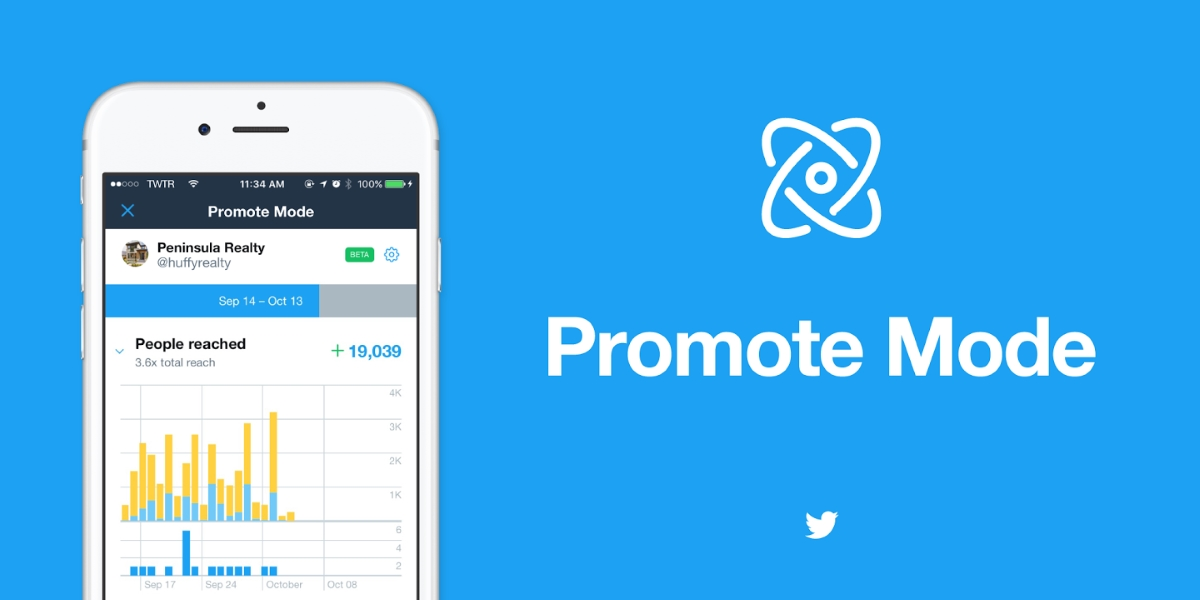 Twitter Promote Mode