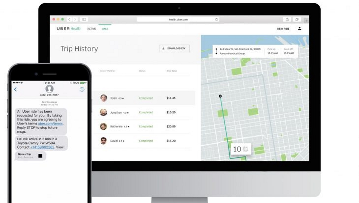 Uber Health launches with tools to help patients get to medical appointments