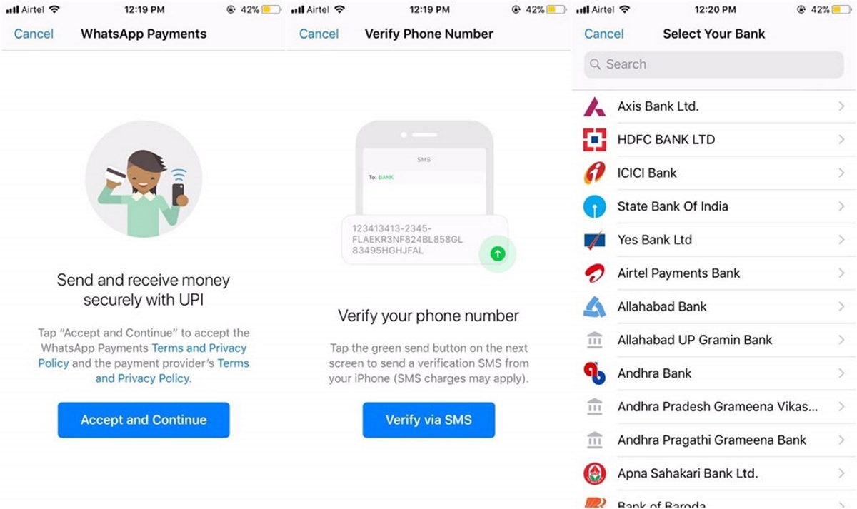 Send money on WhatsApp via UPI, option enabled with ICICI Bank