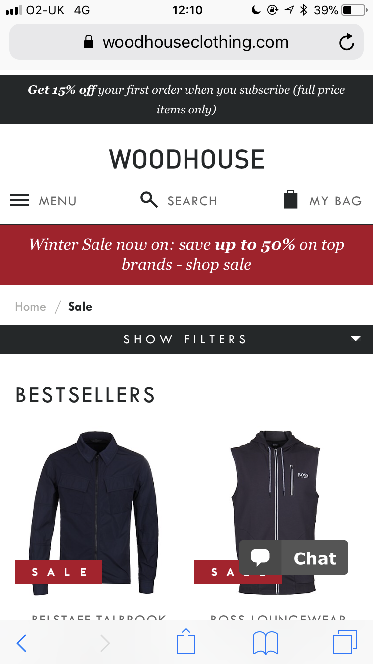 Nosto S Ai Personalisation Engine Boosts Conversions For Woodhouse