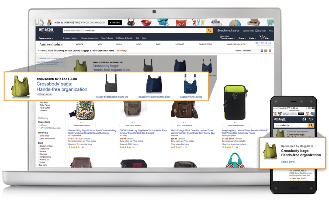 313cc0a3e761 Search ad spending rises as Amazon captures more of the market ...