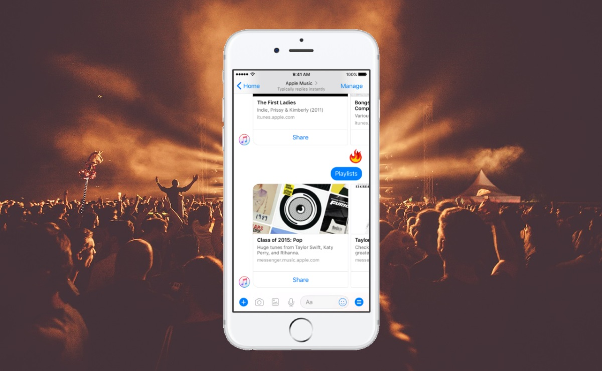 Apple Music launches Messenger bot with full song streaming