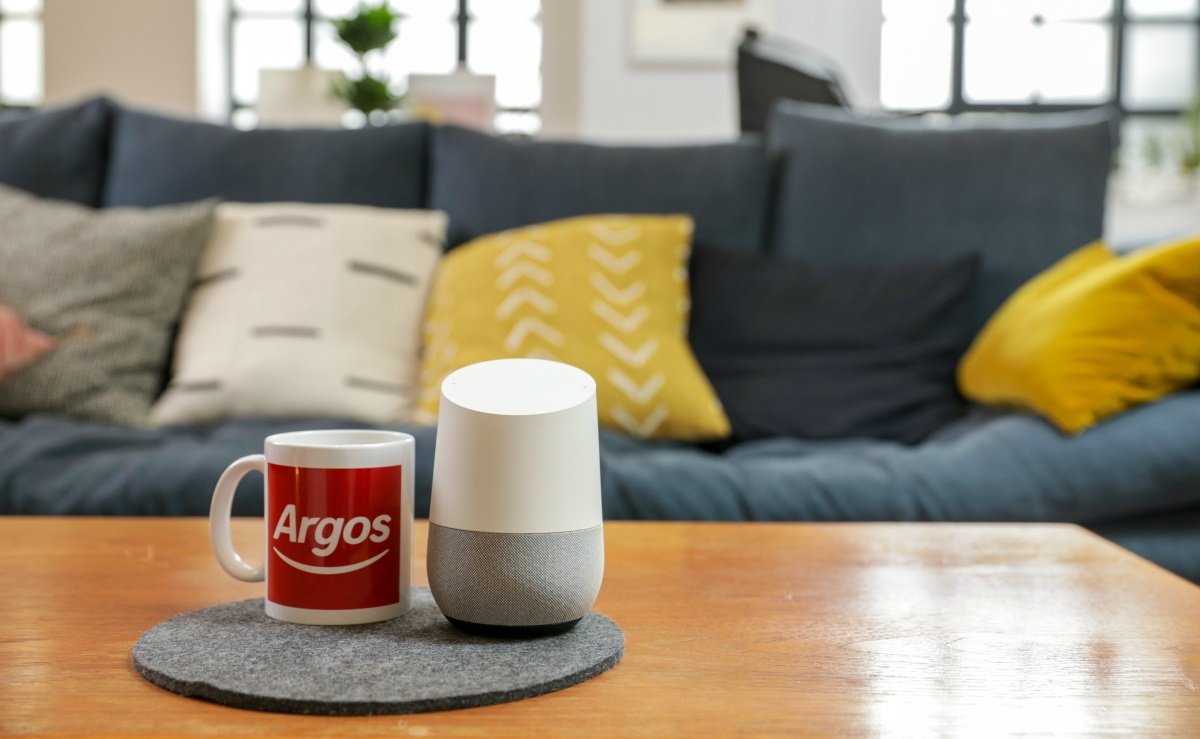 Argos Google Home Assistant