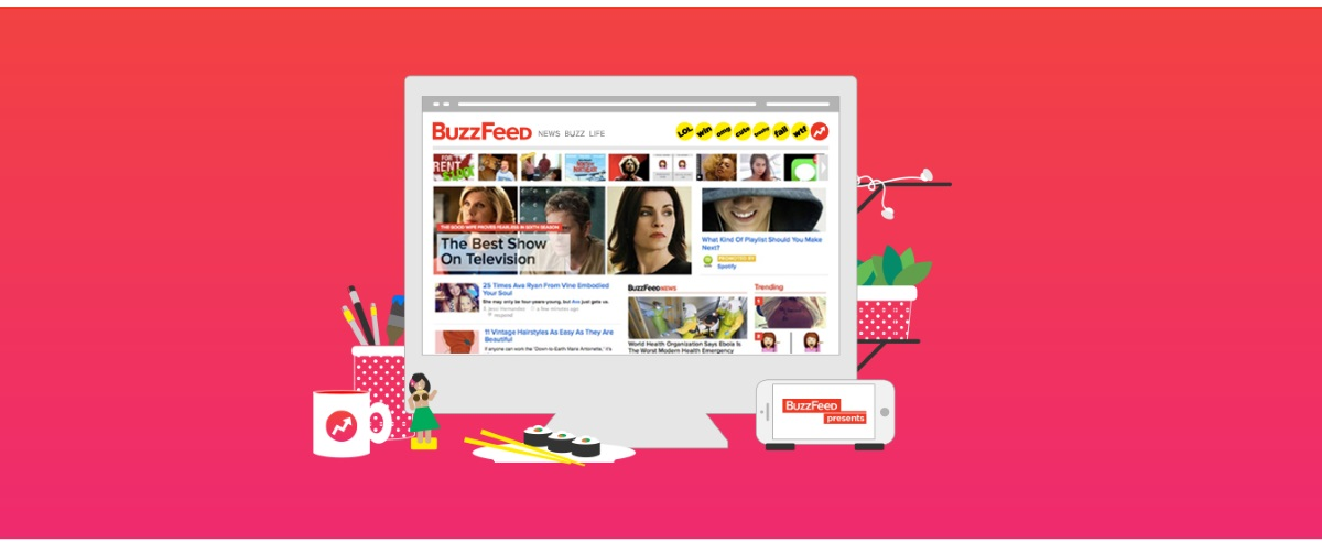 Banner ads return to Buzzfeed as company aims to blend