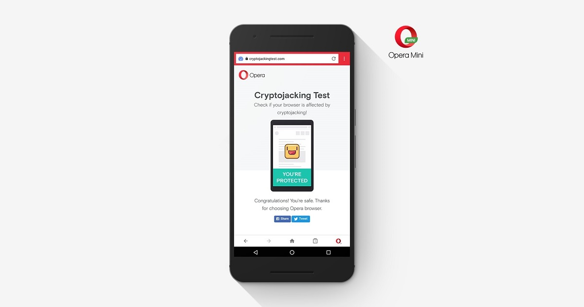 Opera introduces protection from bitcoin mining into mobile browser with cryptocurrencies the current next big thing in the digital world its not surprising that many people are turning to extreme means to mine new coins ccuart Image collections