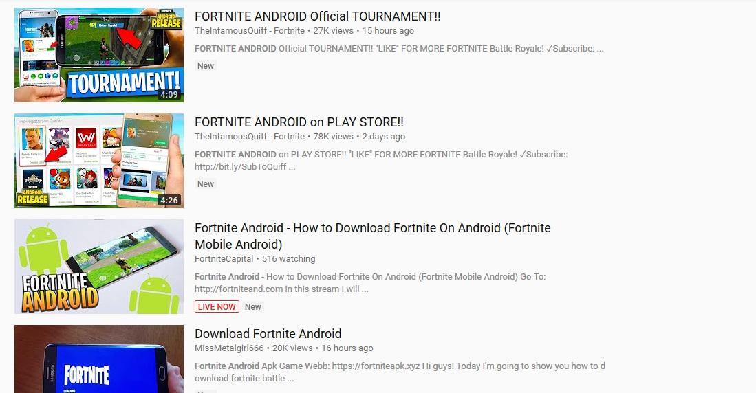 Epidemic of fake Fortnite apps hits internet | Mobile