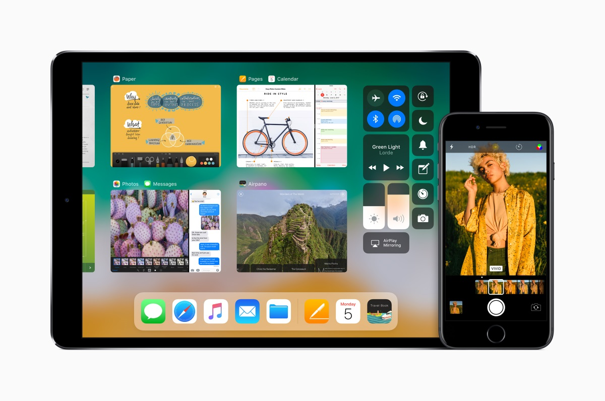 Apple iOS 11 on iPad and iPhone