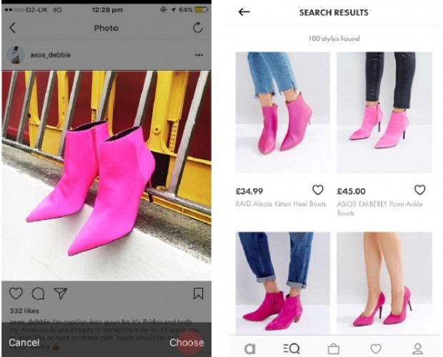 As Seen On Snapchat? ASOS rolls out visual search tools for UK iPhone users