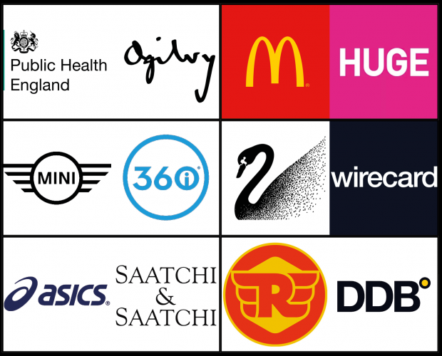 Pitch Perfect: Public Health England, McDonald's, Mini, Swarovski, Asics, Royal Enfield