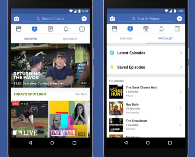 Facebook Watch video streaming service set to land in India next year