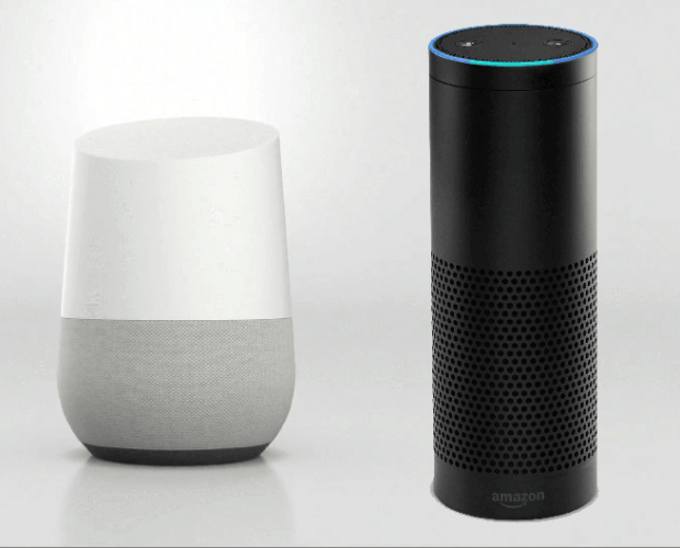 Amazon Echo still dominates the smart speaker market, but Google Home is pegging it back