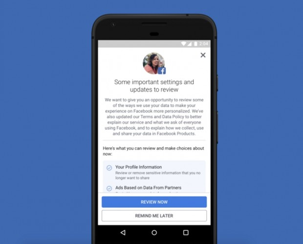 Facebook pushes its GDPR efforts beyond Europe
