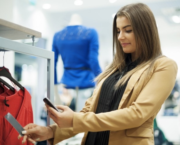 Younger consumers are using their smartphones to browse and buy while in stores