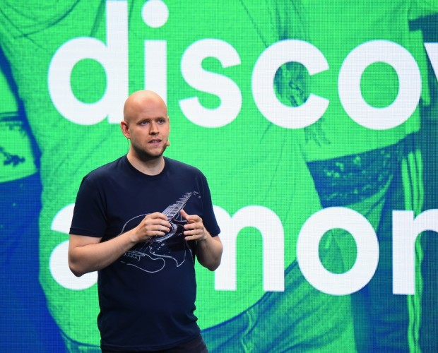 Spotify is buying two podcast companies after its first profitable quarter