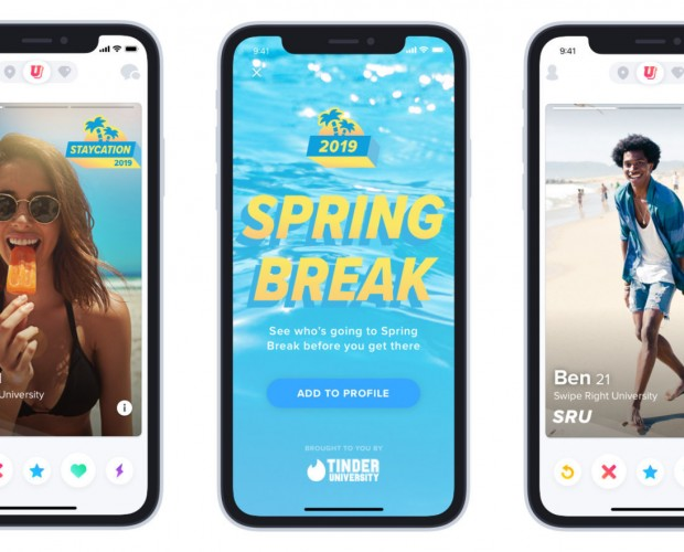 Tinder is rolling out Spring Break mode
