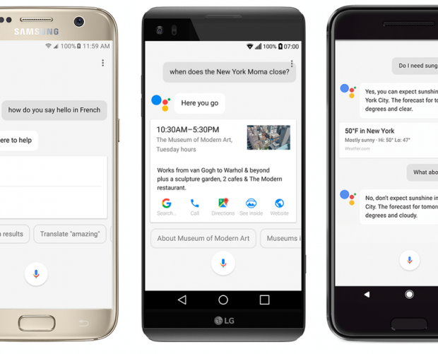 Google Assistant can now book reservations on more devices
