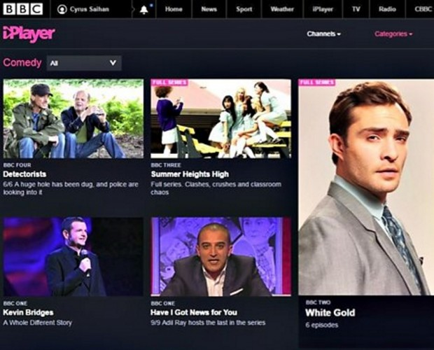 BBC iPlayer breaks records over the holiday period