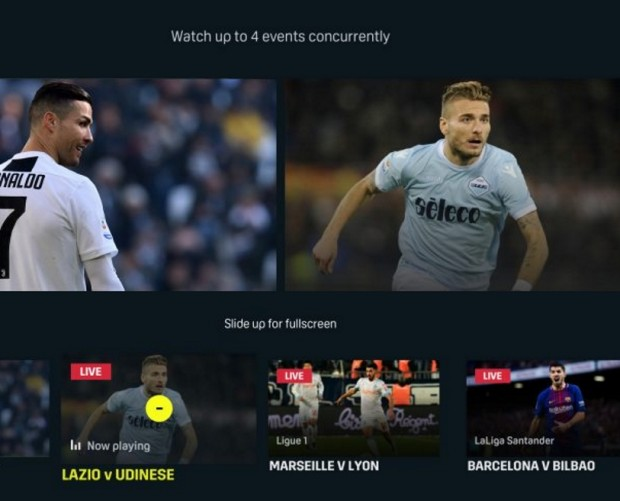 DAZN to expand from nine countries to more than 200 in 2020