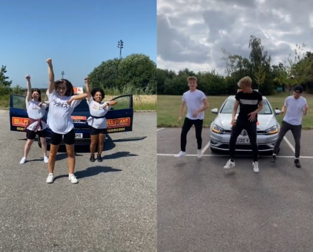 Bill Plant Driving School launches free driving lesson TikTok dance competition