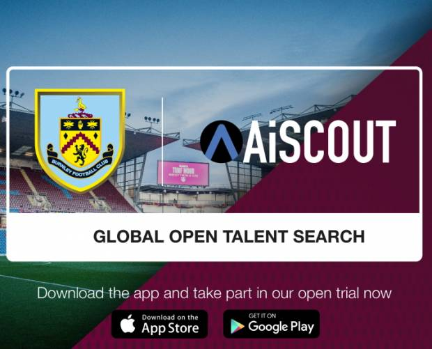 Burnley FC launches AI-driven global football talent search