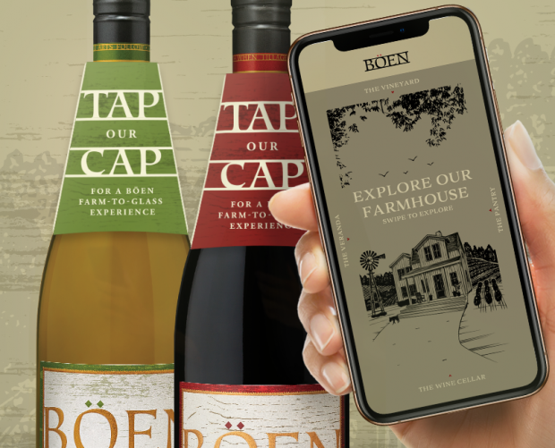 """Tap our Cap"": Wine brand launches bottles with NFC technology"