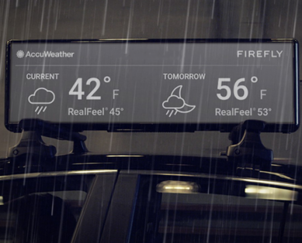 Firefly partners with AccuWeather for weather-triggered ads