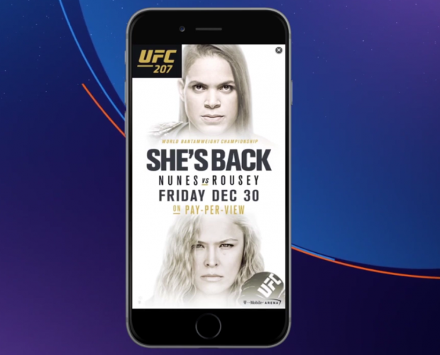 AdColony partners with UFC for vertical video campaign